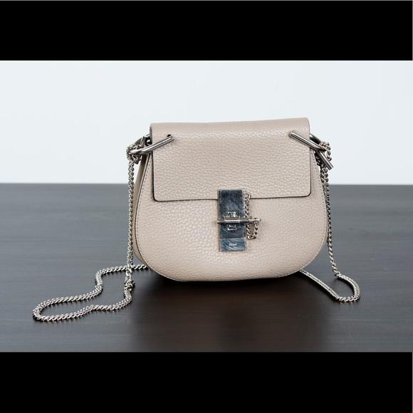 f4f0a5f3 Chloe Drew Mini Lambskin Shoulder Bag